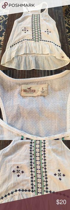 Hollister boho top Hollister boho top - like new Hollister Tops Tunics