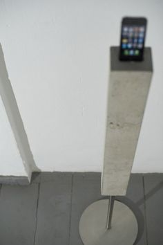 iPhone Concrete Dock Tower
