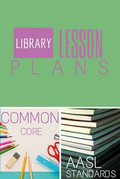 Library Lesson Plans from ElementaryLibrarian.com