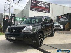 2007 Nissan X-Trail T31 ST (4x4) Black Automatic 6sp A Wagon #nissan #xtrail #forsale #australia