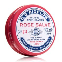 The best rose beauty products to shop in honor of National Rose Month: C.O. Bigelow Rose Salve