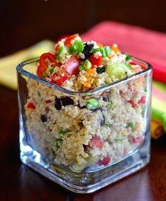 Mediterranean Quinoa Salad on yummyfoodideas.com