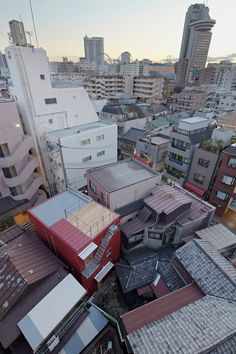 Rouge, Tokyo, Japan by Apollo architects