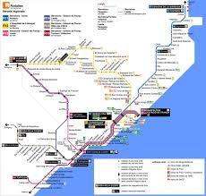 Resultado de imagen de cercanias barcelona mapa