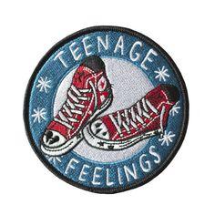 Teenage Feelings iron-on patch