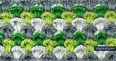 Simple & Textured Crochet Stitch Tutorial - (mypicot)*