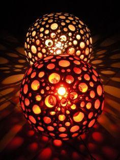 dizaina lampa mazā | Meistardarbs