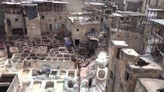 Maroc Patrimoine de la  Medina de  Fès  , vidéo en 4K( Ultra Haute Defin...