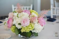 Wedding centerpiece -  Nicole Lopez Photography