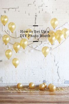 How to Set Up a DIY Photo Booth  Free People DIY /