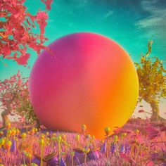 <p>'Everydays' by artist Mike Winkelmann aka Beeple creates images of amazing sci-fi landscapes. The images combine galactic space elements and sometimes people. Ranging from a variety of color palett