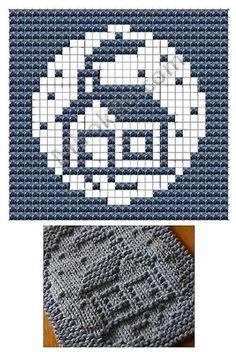 Home Knit Dish cloths Pattern Knitting Blocking, Knitting Squares, Dishcloth Knitting Patterns, Crochet Dishcloths, Knitting Charts, Knitting Stitches, Knit Patterns, Baby Knitting, Stitch Patterns