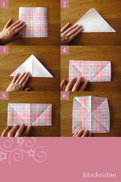 Origami Kraniche Tutorial - Teil 1