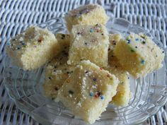 Barfi | Simply Trini Cooking