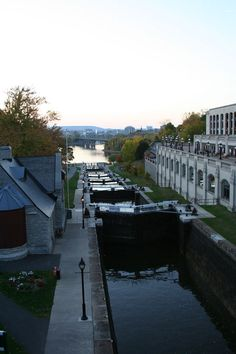 Drop - Water levels drop in the locks between Rideau Canal and Ottawa River Ottawa River, Ottawa Ontario, My Images, Locks, Empty, My Photos, Shots, October, Canada
