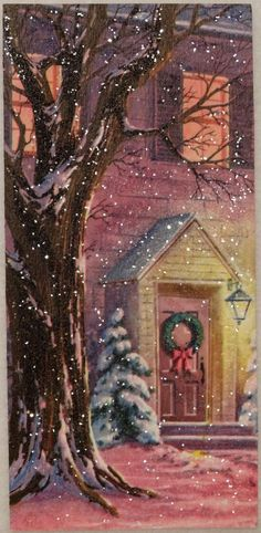 Holiday Home (http://www.ebay.com/itm/1446-60s-Unused-Heavily-Glittered-Front-Door-Vintage-Christmas-Greeting-Card-/331094267486?pt=LH_DefaultDomain_0&hash=item4d16c1965e)