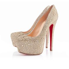 Buy For Sale Christian Louboutin Daffodile Aurora Boreale Pumps Hot Nude from Reliable For Sale Christian Louboutin Daffodile Aurora Boreale Pumps Hot Nude suppliers.Find Quality For Sale Christian Louboutin Daffodile Aurora Boreale Pumps Hot Nude and mor Christian Louboutin Loafers, Louboutin Wedges, Christian Louboutin Outlet, Gold Pumps, Gold Shoes, Fashion Lookbook, Bridal Shoes, High Heels, Pumps