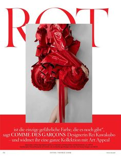 Rot (Vogue Germany)