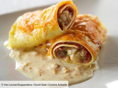 Cannelloni with endive endives Recipes Dutch Recipes, Meat Recipes, Dinner Recipes, Endive Recipes, Look And Cook, Happy Foods, Italian Dishes, Everyday Food, Light Recipes