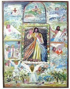 Arte popular de Venezuela: OTILIA IDROGO - PINTURA
