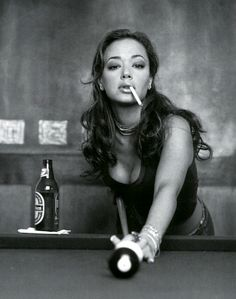 "Leah Remini- she's a b***h like me, a lot intimidating and I would be afraid to sit at her table.. ""please be my friend, Leah!"""