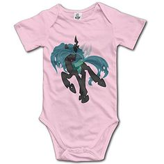 McBr My Little Chryssy At Play Pony Unisex Short Sleeve Romper Outfits Pink -- Continue @