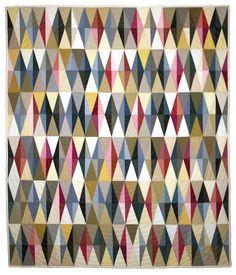 Diamonds Quilt by Tara Faughnan