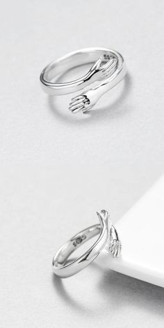 Greendou Fashion Jewelry 925 Sterling Silver Plated Tree Branch Open Adjustable Wedding Ring