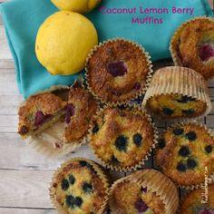 Recipe: Coconut Lemon Berry Muffins (Paleo, SCD, GAPS)
