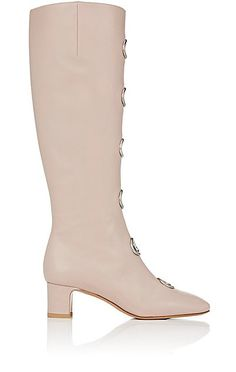We Adore: The Ornament-Embellished Leather Knee Boots from Valentino at Barneys New York