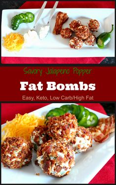 Share this Faster to make than pepper-poppers, and with more fat than our Chicken Pepper Bites these savory fat bombs are a snap to make and a treat to eat. To increase the healthy probiotics, drip yogurt cheese like we did in the Strawberry Cheesecake Fat Bombs, or use organic cultured cream cheese from the...
