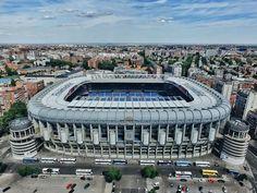 Wallpaper Spain, Madrid, Stadium Santiago Bernabeu