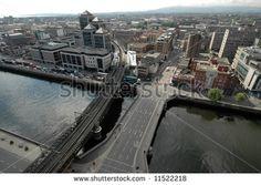 Fotka, Foto Dublin z ptačí perspektivy (Dublin, Irsko) Trinity College Dublin, Ireland, Urban, Pictures, Irish