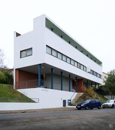 AD Classics: Weissenhof-Siedlung Houses 14 and 15 / Le Corbusier and Pierre Jeanneret, © Hassan Bagheri / hbarchitectural.com
