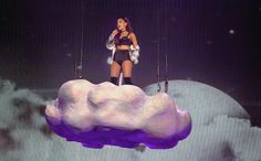 ★ Passionate Purple ★ Ariana Grande, a Pop Princess, Leaves Nickelodeon in the Rearview Mirror at Madison Square Garden https://www.facebook.com/anthony.hairston2