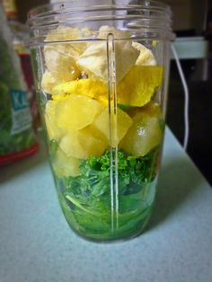 Soul Food: My Version of  Tropical Smoothie Cafe's 'Island Green' Smoothie