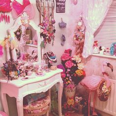What I'm sure my room looked like as a little girl.