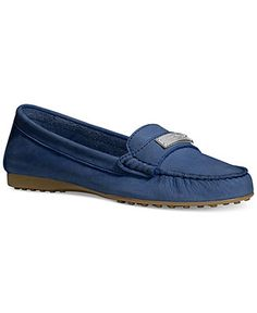 timbre dom tom - Bright blue chain front loafers - brogues / loafers - shoes ...