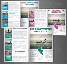 Creative Newsletter Designs For Your Inspiration Pinterest - Creative newsletter design templates