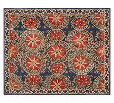 Jessa Suzani Printed Rug - Multi | Pottery Barn