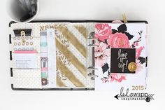 totally gorgeous memory planner from heidi swapp.  one day mine will look like this!