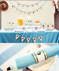 Little Indians and cowboys came together as fast friends at this creative & adorable 'Little Indian & Cowboy' party that Junita fromKinderplays created for her son's 3rd birthday! She managed to combine western flair with traditional Indian designs and bring them together in a fresh new way that feels very modern, warm and inviting... love it! The childlike silhouettes of a little Indian & cowboy on the invites and paper details set a perfect tone for the party, and guests enjoyed creative…