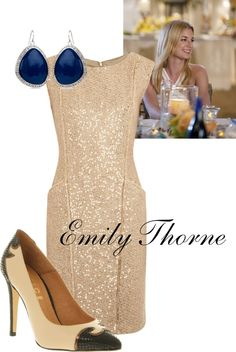 """Emily Thorne Inspired"" by malory-1 on Polyvore"