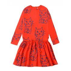 Nadadelazos Organic Dress - PARAPLUIE Meraki, Anton, Kids Fashion, Dressing, Summer Dresses, Sweatshirts, Cats, Organic, Gatos