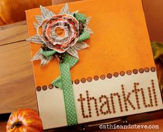 canvas craft projects | thankful for so many things this year....one of them being ...