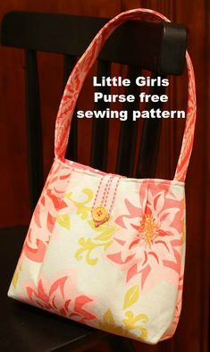 Purse And Handbag Patterns To Sew