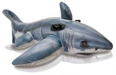 Cheap pool toys for kids, Buy Quality pool toys directly from China swimming pool toys Suppliers: Inflatable Float Ride-On White Shark Swimming Pool Toy For Kids Rideable Large Pool Toys For Kids, Children Swimming Pool, Swimming Pool Toys, Shark Swimming, Kids Toys, Inflatable Pool Toys, Inflatable Float, Huge Shark, Cool Sharks
