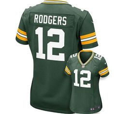 Nike Green Bay Packers Aaron Rodgers Jersey - Women s Green Bay Packers  Merchandise a6e15fc18