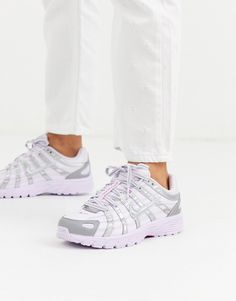 Buy Nike Lilac And Silver Trainers at ASOS. With free delivery and return options (Ts&Cs apply), online shopping has never been so easy. Get the latest trends with ASOS now. Asos, Nike Zoom, Air Max Sneakers, Sneakers Nike, Baskets Nike, Formal Shoes, Violet, Nike Huarache, Nike Air Max