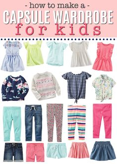 How to Make a Capsule Wardrobe for Kids How to Create a Capsule Wardrobe for KIDS! This is a genius mom hack! Come see our finds from and find my tricks for making this work for you! Capsule Wardrobe Mom, Kids Wardrobe, Wardrobe Ideas, Fall Wardrobe, Back To School Outfits For Kids, Kids Outfits, Kids School Clothes, Minimalist Wardrobe, Mom Hacks